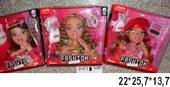 Кукла-модель 2027 для причесок и макияжа 3в.кор.ш.к.