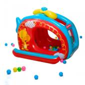 Игровой центр Fisher Price , вертолет, 137*112*97 см, от 2*х лет, Bestway, 93502