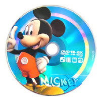 Диски DVD-R 4.7Gb DISNEY Cake Box 8x (Mickey)